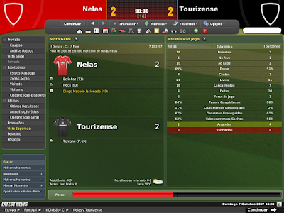 Football Manager 2008 - O Ultimo save - Sport Lisboa e Nelas - III