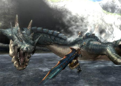 Monster Hunter 3 Screen