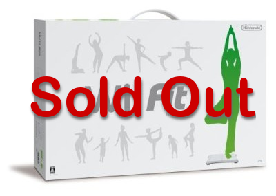 Wii Fit Sold Out Image