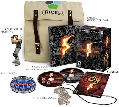 Resident Evil 5 Collector's Edition Swag
