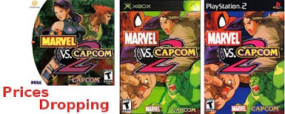 Marvel vs Capcom 2 Prices Dropping