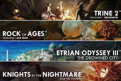 Atlus E3 2010 Lineup