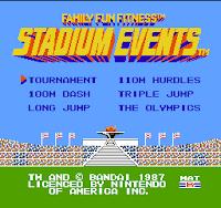 Stadium Events Screenshot