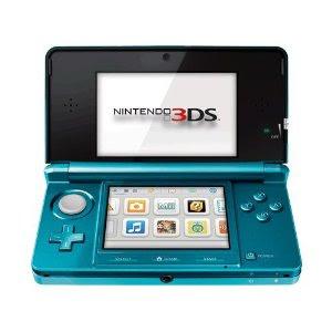 Aqua Nintendo 3DS
