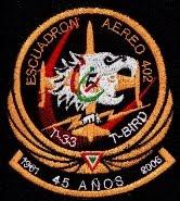 Renovación del ESCUADRÓN AÉREO 402 de la FUERZA AÉREA MEXICANA (12 T-6C+) Ea402-45