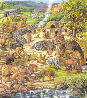 cotidiano neolítico