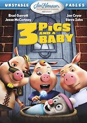 Los Tres Cerdos y un Bebé / Cachorro Poster