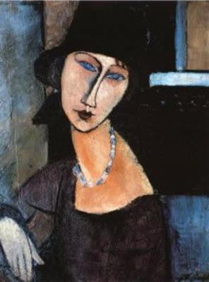 ترجمة قصة إيفـلـين eveline لــ James Joyce  1150-15260~Jeanne-Hebuterne-a-Cloche-Posters