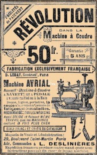machine avrial