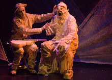 George Szilagyi as the creature & Tim Machin as Delacey