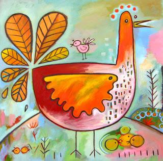 keith-norval-galinha-cor-de-rosa.jpg (511×504)