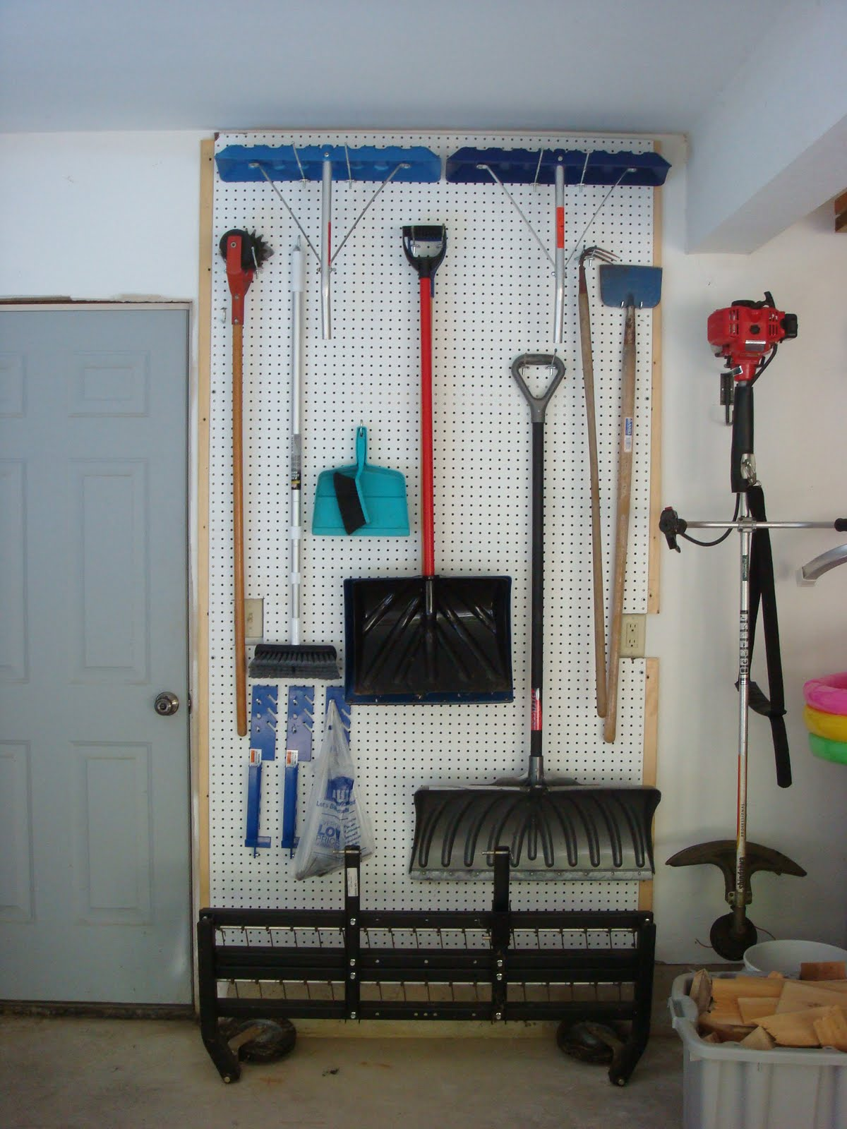Pegboard Garage Organization Ideas Part - 48: More Garage Organization