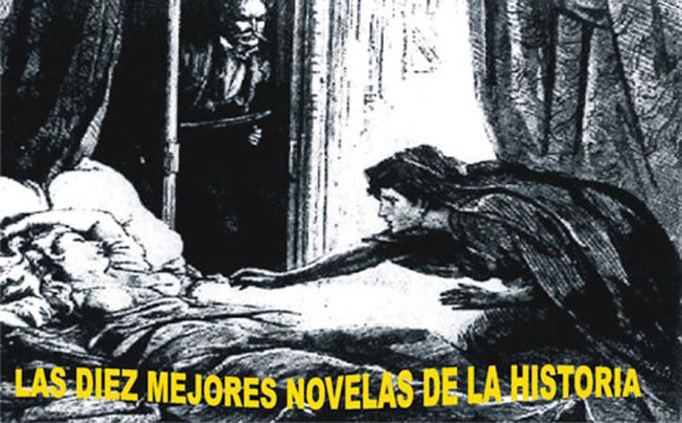 LAS DIEZ MEJORES NOVELAS DE LA HISTORIA