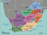 South Africa Regions