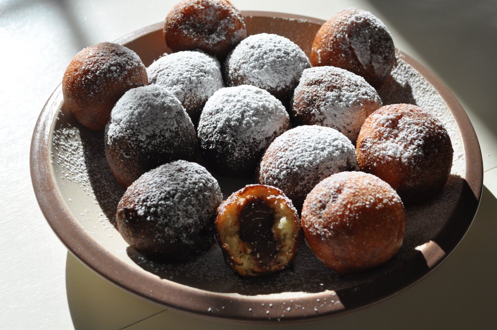 Kneading My Dream: Nutella Filled Donuts