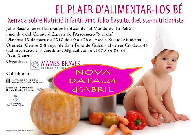 XERRADA JULIO BASULTO: NUTRICIÓ INFANTIL
