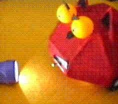 Cucabot fototropo