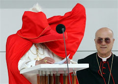 The Pope - Blown in the wind...