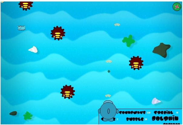 Sqwishlanders : Sqwishlanders: Game of the Month: Dolphin Defence