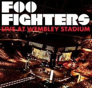Capa do CD Foo Fighters - Live At Wembley Stadium