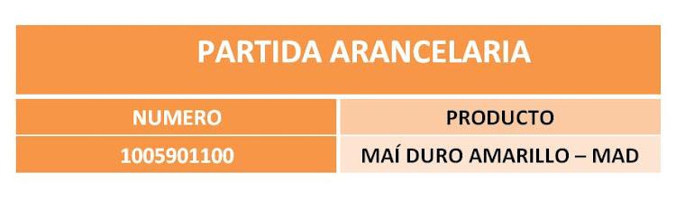 PARTIDA ARANCELARIA