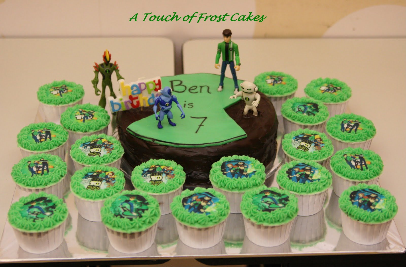 A Touch Of Frost Cakes Ben10 Alien Force Birthday Cake