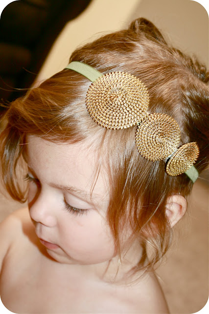 DIY Zipper Rosette Headband by Sew Craft Create