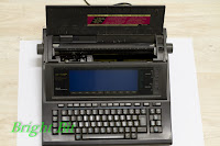 Sharp PA-W1410 Personal Word Processor opened view