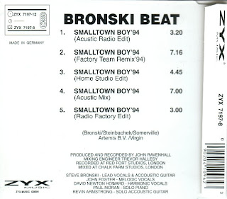 BRONSKI BEAT - Smalltown Boy '94 (1994)