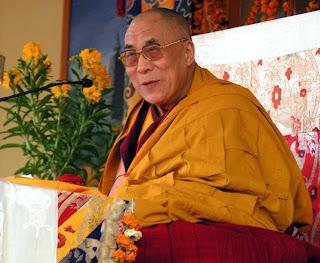 foto de Tenzin Gyatso, el actual Dalai Lama