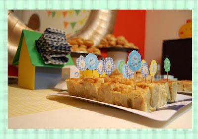 Toppers, palillos personalizados para tortillas,cupcakes...by Fiesta y chocolate