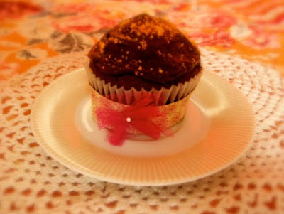 Cupcake chocolate by Fiesta y chocolate