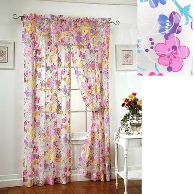 Kids bath blog extra long shower curtain