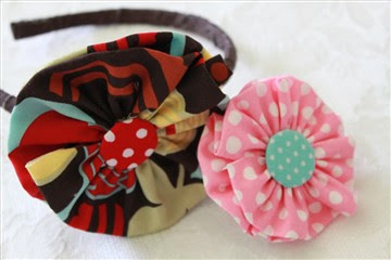 crafts for kids: fabric flower tutorial