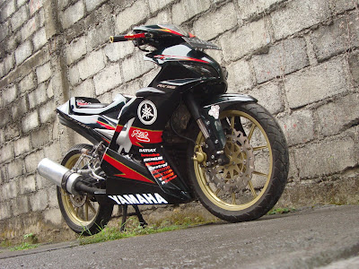 Modif Jupiter Mx Racing Look