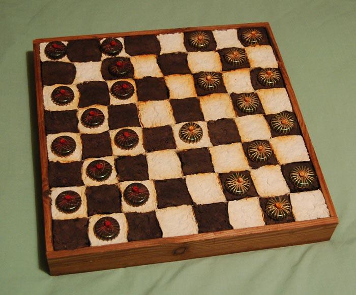 Как сделать шашки своими руками 22