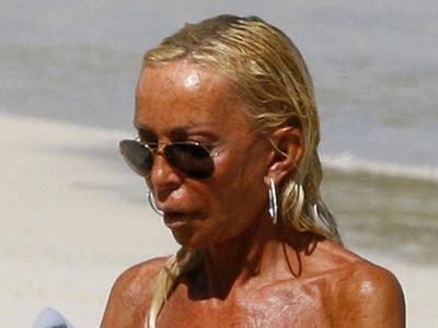 Donatella Versace Topless