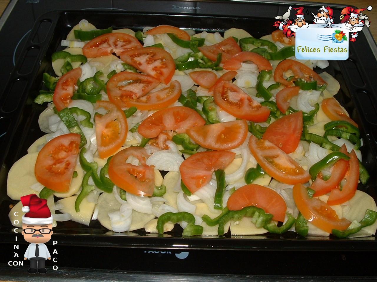 Cocina con paco corvina al horno - Cocina con paco ...