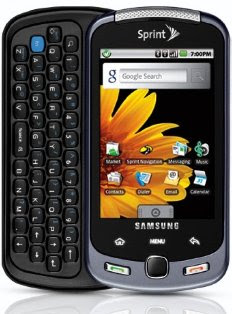 User Manual Samsung Moment SPH M900