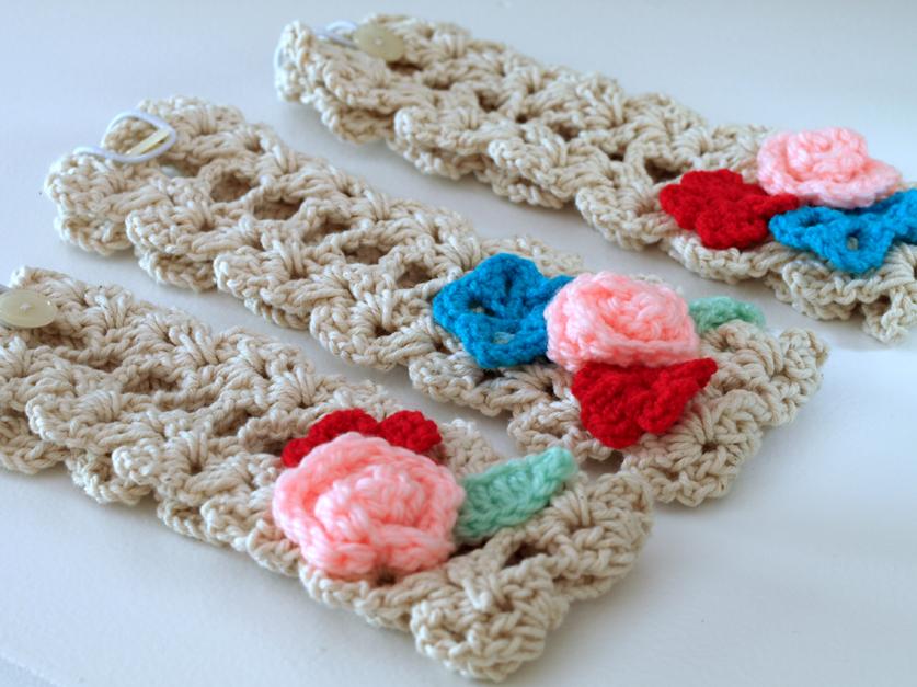 Crochet Hair Bands : CROCHET HAIR BANDS Crochet For Beginners