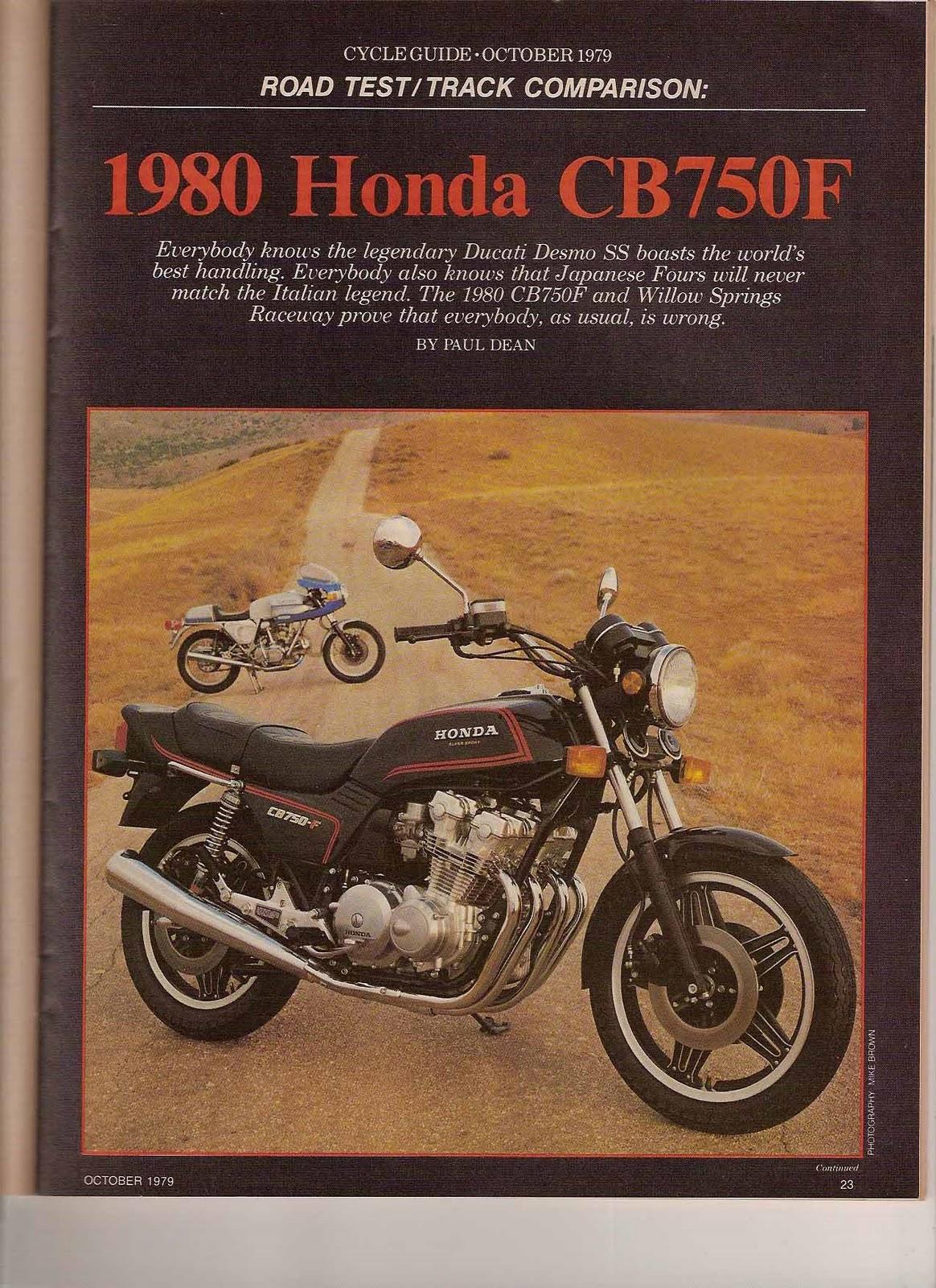 Honda Inline 4 Cylinder Motorcycles
