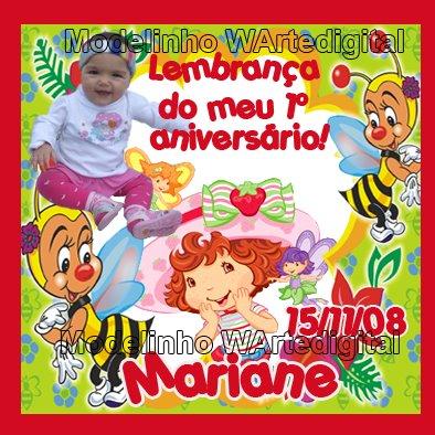 Convites Infantis Moranguinho