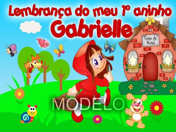 Convites Infantis - Chapéuzinho Vermelho
