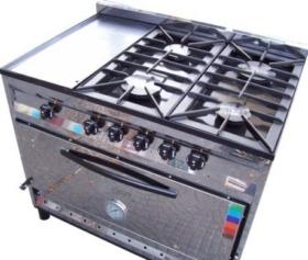 Cocinas industriales familiares cocinas industriales para - Cocina con plancha ...