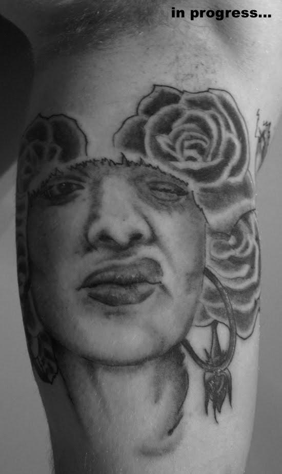 Half Sleeve Inner Bicep Tattoos