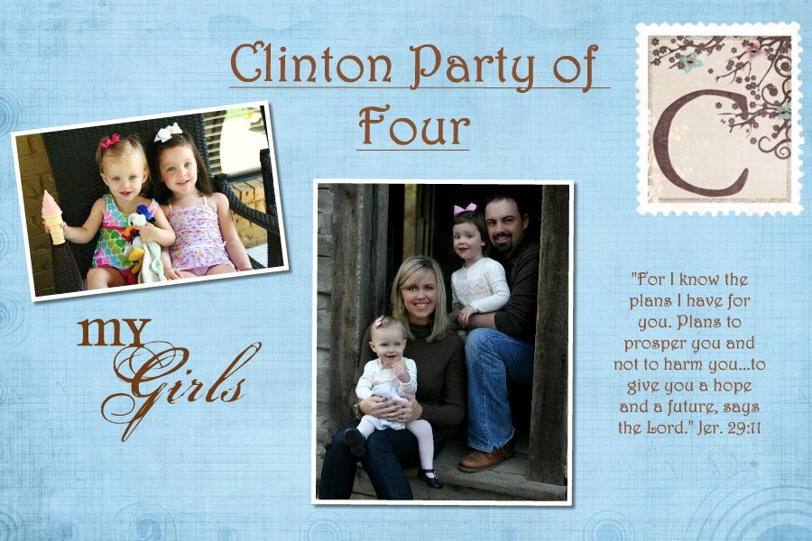 Clinton Party of Four