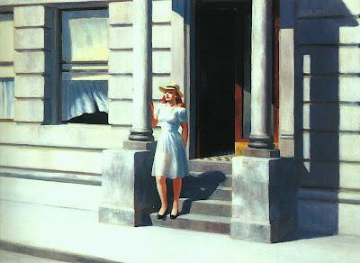 Edgar Hopper Edward+Hopper,+summertime+1943,+Delaware+art+museum