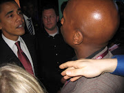 BRAD BAILEY AND BARACK OBAMA