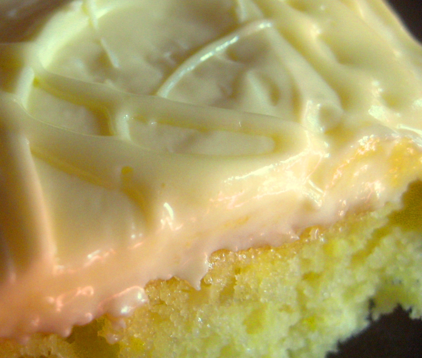 My Homemade Life: LEMON DROP Cake Plus a Little Frosting Secret