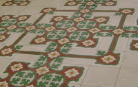 old maltese tiles - fractal looking pattern